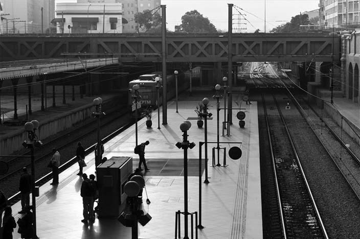 Calmaria na Estação da Luz | Foto: Jefferson Carvalho